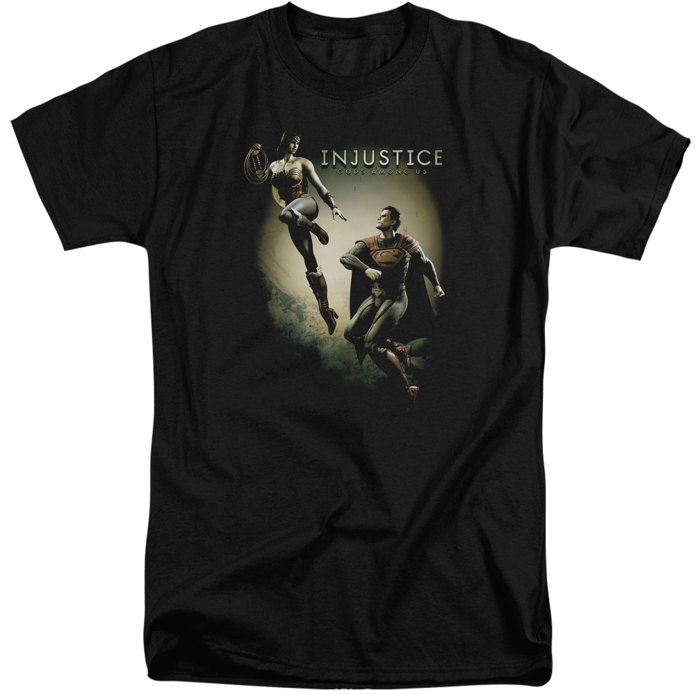 Injustice Gods Among Us Battle Of The Gods Mens Big and Tall Shirt