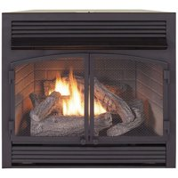 Duluth Forge Dual Fuel Ventless Gas Fireplace Insert - 32,000 BTU, Remote Control, FDF400RT-ZC