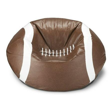 Ace Casual Furniture Football Bean Bag Chair Walmart Com