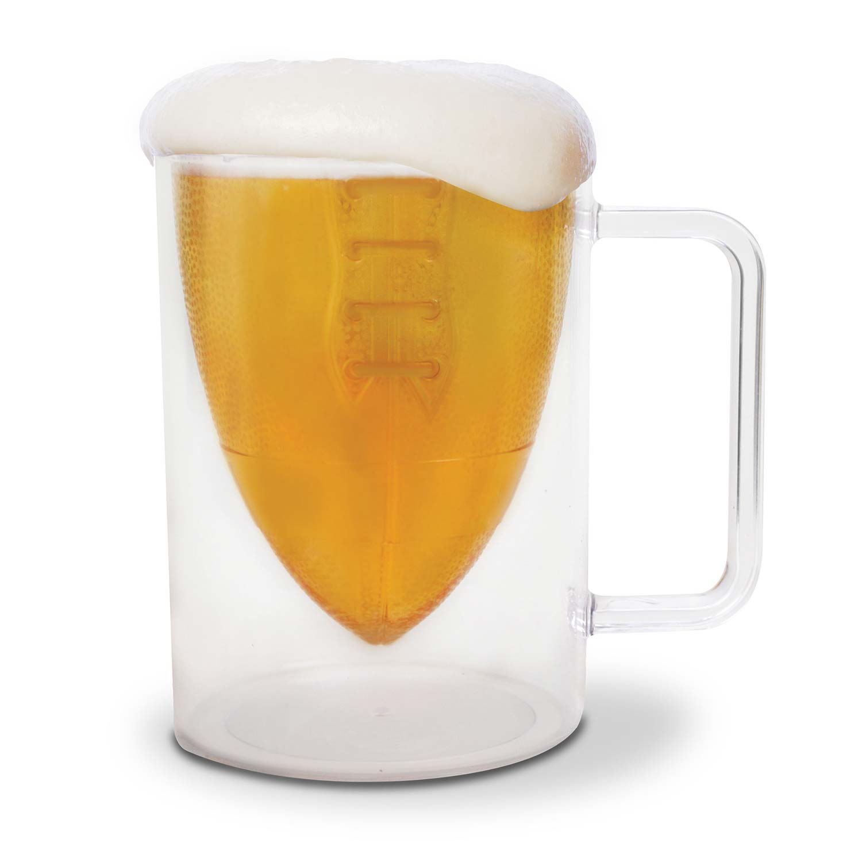 Football Beer Mug by
