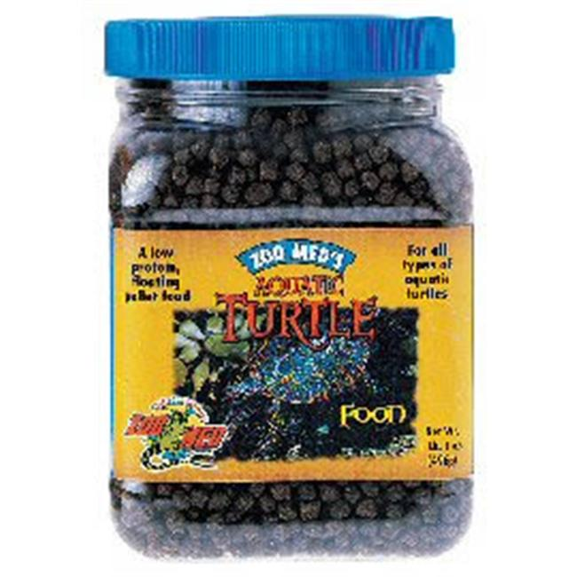 Zoo Med Labs 850-40052 Zoo Med Natural Aquatic Turtle Food Growth Formula 3-16in Size Pellet 13oz