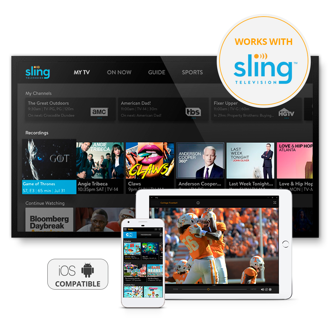 AirTV with $25 Sling Coupon