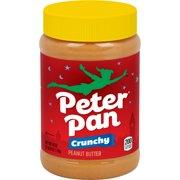 Peter Pan Crunchy Peanut Butter Chunky Peanut Butter 40 Oz