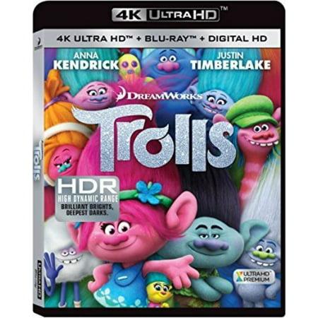 Trolls (4K Ultra HD)