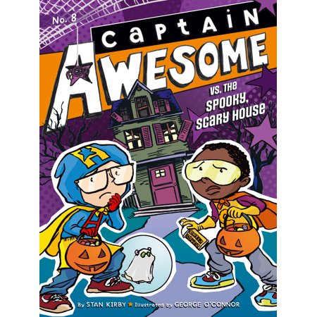Awesome Halloween Cover Photos (Captain Awesome vs. the Spooky, Scary)