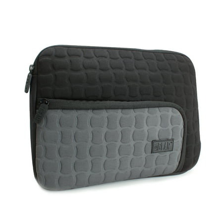 USA GEAR FlexARMOR X Protective Neoprene Tablet Sleeve with Storage Pocket, Scratch-Free Interior & Zipper Enclosure - Works with RCA Viking Pro 10 & More