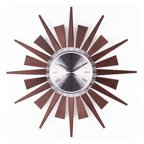 George Nelson Wooden 19 375 In Starburst Wall Clock