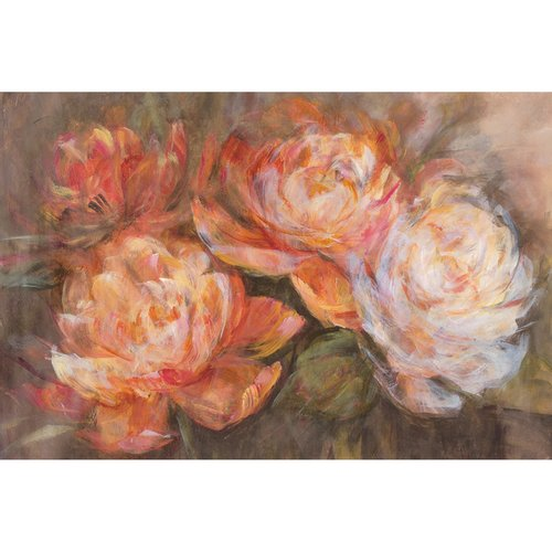 """Portfolio Canvas Decor """"First Blush"""" by Carson Wrapped and Stretched Canvas Wall"""