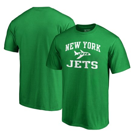 New York Jets NFL Pro Line by Fanatics Branded Vintage Victory Arch T-Shirt - Kelly Green