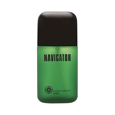 Drew Mens Navigator - Navigator by Dana for Men 3.4 oz Eau de Toilette Spray (Green Bottle)