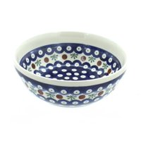 Polish Pottery Nature Cereal/Soup Bowl