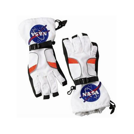 NASA Jr. Astronaut Gloves Boys' Child Halloween - Napa Halloween City