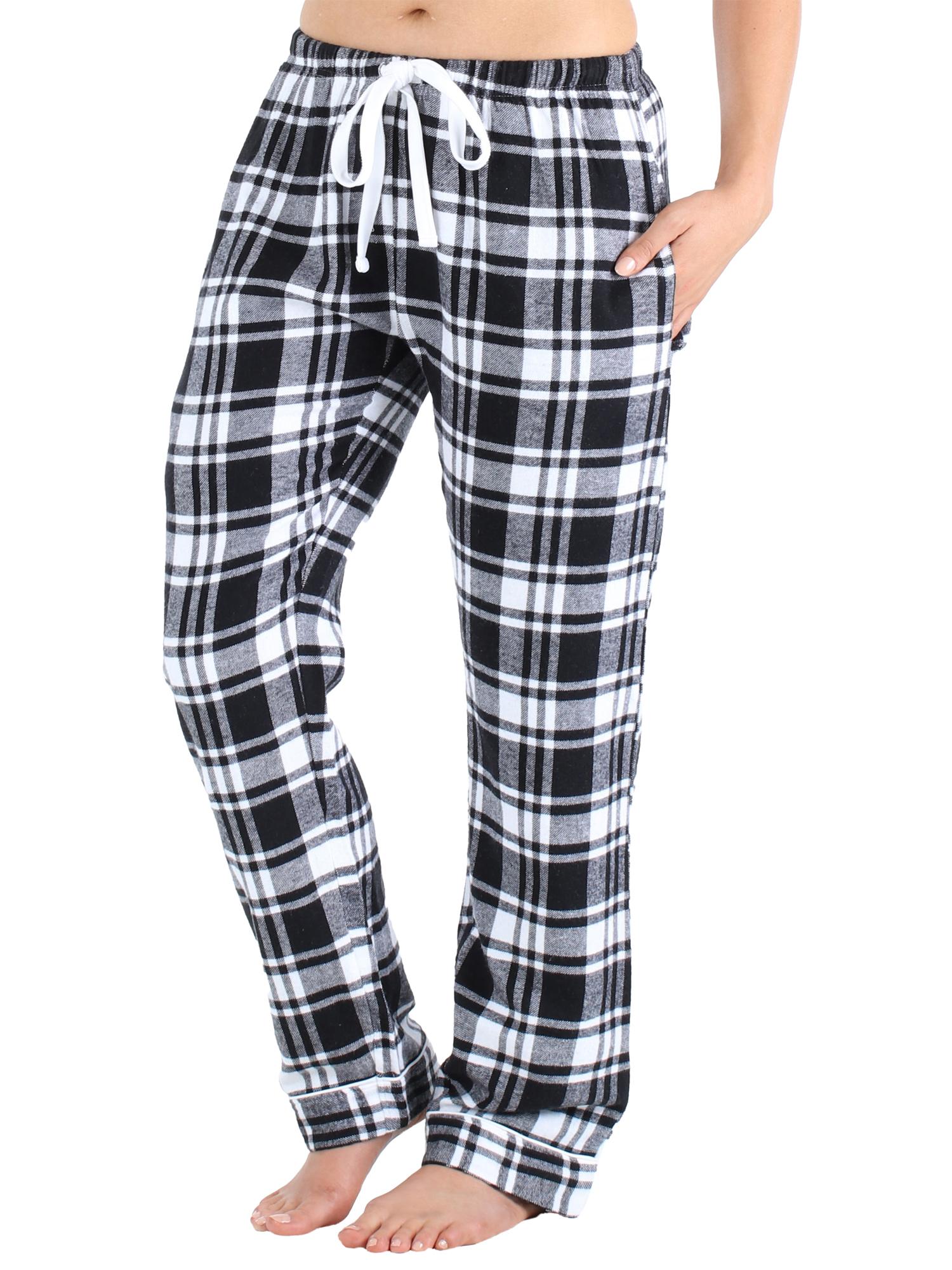 PajamaMania Women/'s Cotton Flannel Pajama PJ Pants