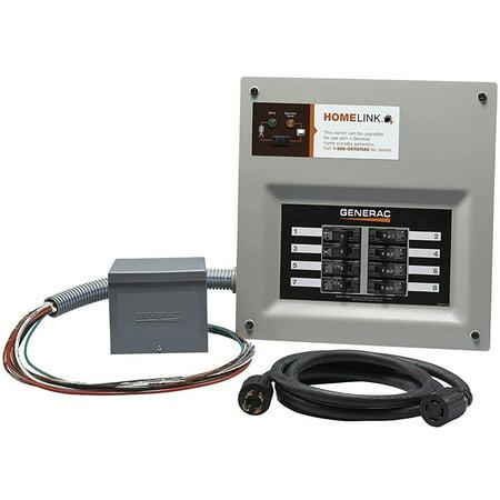 200a Manual Transfer Switch - GENERAC 6854 Upgradable Manual Transfer Switch,Gray