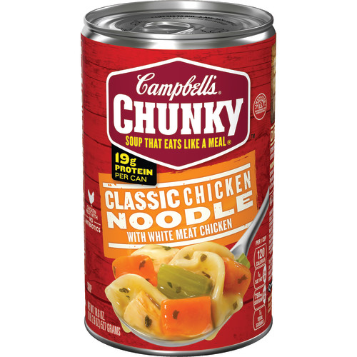 Campbell's Chunky Classic Chicken Noodle Soup, 18.6 oz.