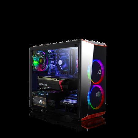 CLX SET GAMING Intel Core i7 9700K, NVIDIA GeForce RTX 2060 6GB GDDR6, 16GB Memory, 2TB HDD + 240GB SSD Storage MS Windows 10 Home