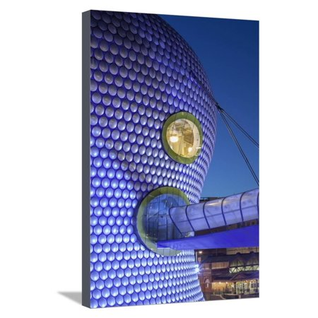 Facade of the Selfridges Department Store in Birmingham, England Stretched Canvas Print Wall Art By David (Department Stores Birmingham)