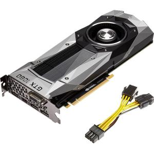 PNY GeForce GTX 1080 Graphic Card 1.61 GHz Core 1.73 GHz Boost Clock 8 GB GDDR5X PCI Express 3.0 x16 Dual Slot Space... by PNY VIDEO GRAPHICS