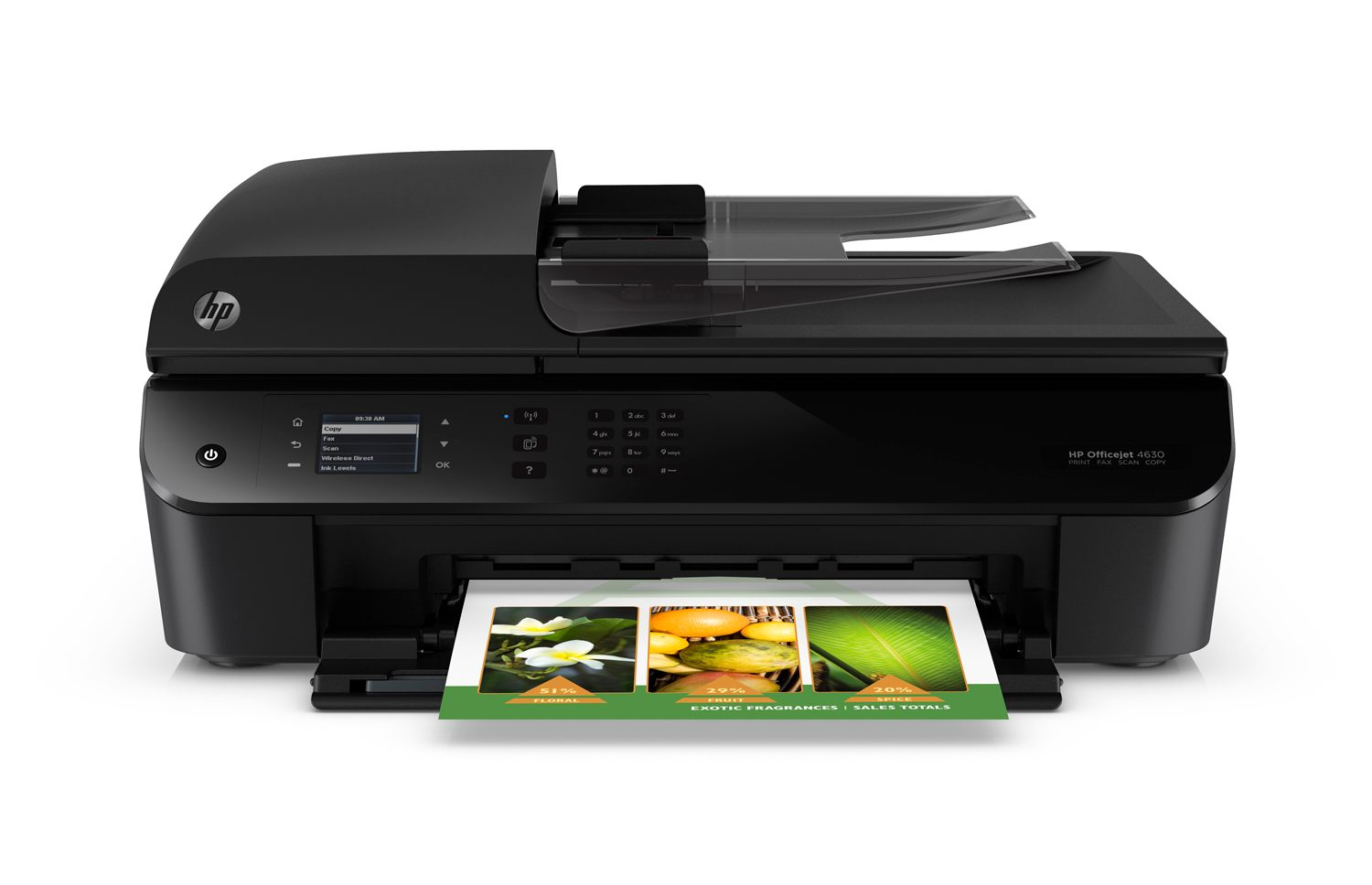 HP Officejet 4635 e-All-in-One Printer (Certified Refurbished) by HP
