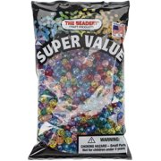 Faceted Beads 6mm 1,080/Pkg-Multicolor