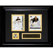 Midway Memorabilia rask_cards Tuukka Rask Boston Bruins NHL 2 card frame