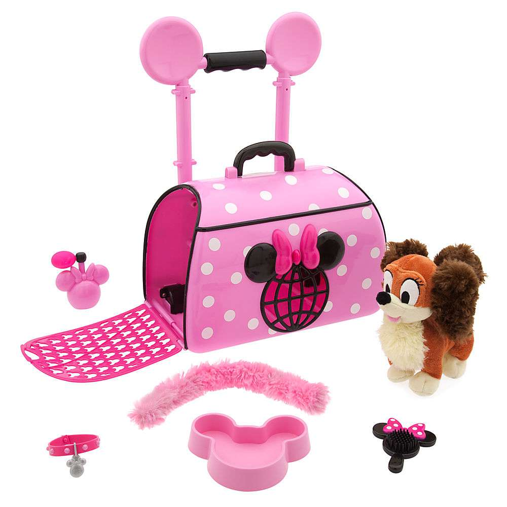 Disney Minnie Mouse Popstar Pet Carrier Set [Includes Fifi] by