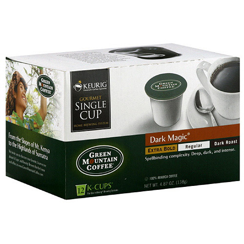 Green Mountain Coffee Roasters Extra Bold K-Cups Coffee, 4.87 oz, 12ct, (Pack of 6)