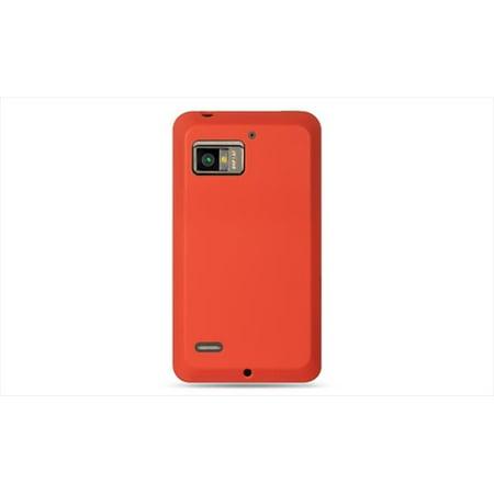 DreamWireless SCMOTTARGARD-PR Motorola Droid Bionic Targa & Xt875 Premium Skin Case Red - image 1 of 1