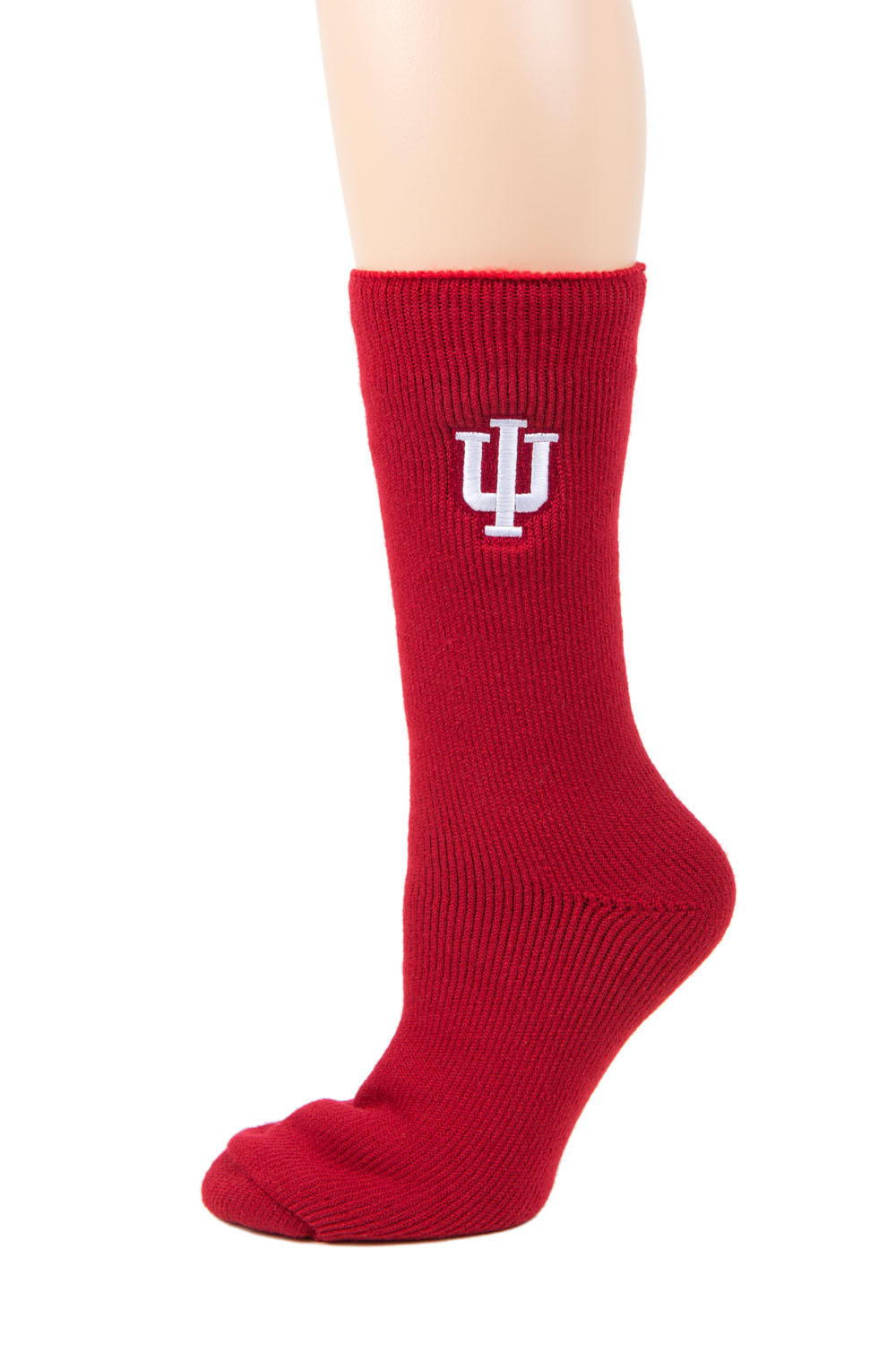 Indiana Hoosiers Red Thermal Sock by Donegal Bay