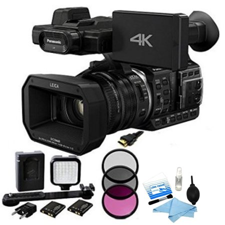 Panasonic HC-X1000 4K Ultra HD Camcorder w/ Filter Kit Bundle