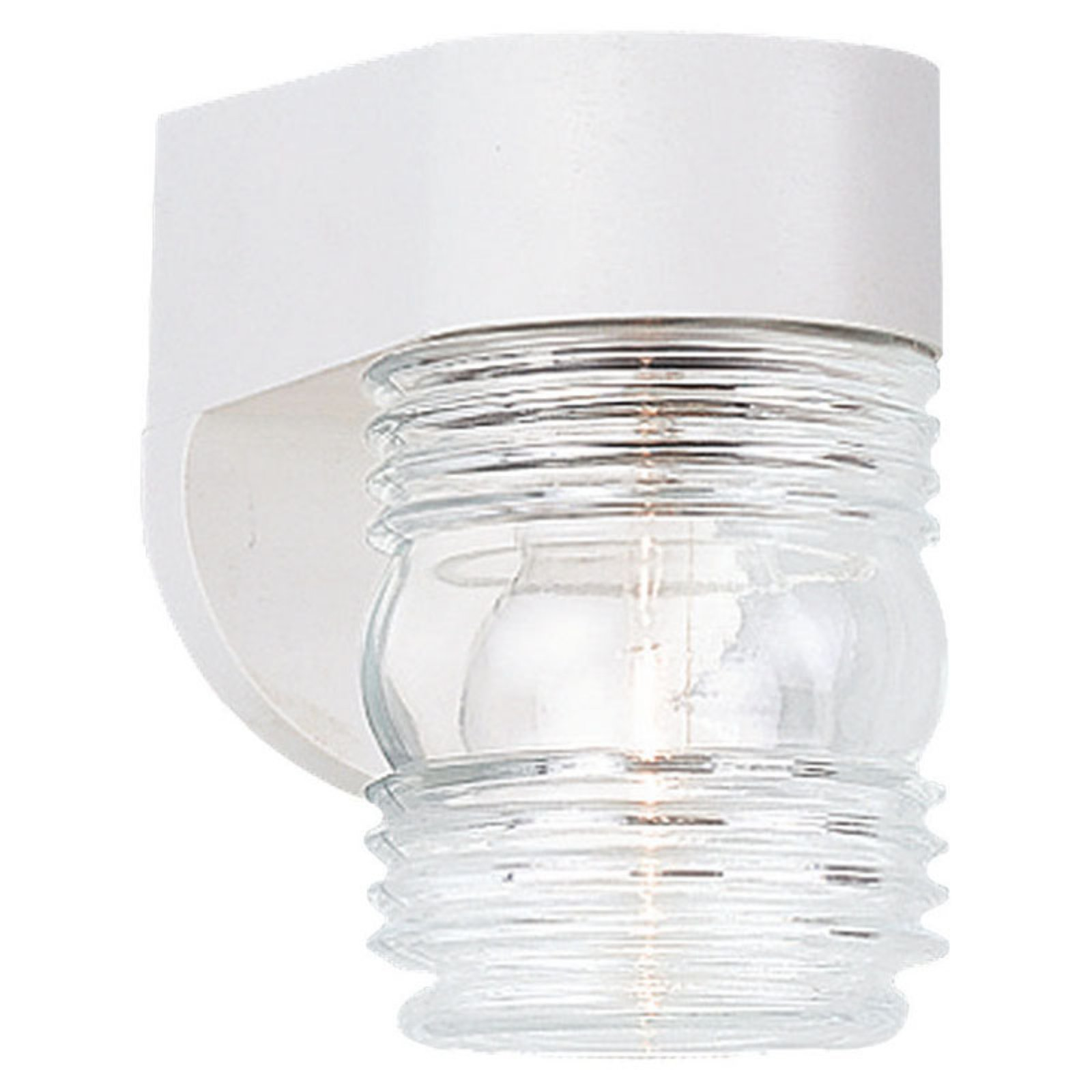 Sea Gull Outdoor Wall Light - 6H in. White