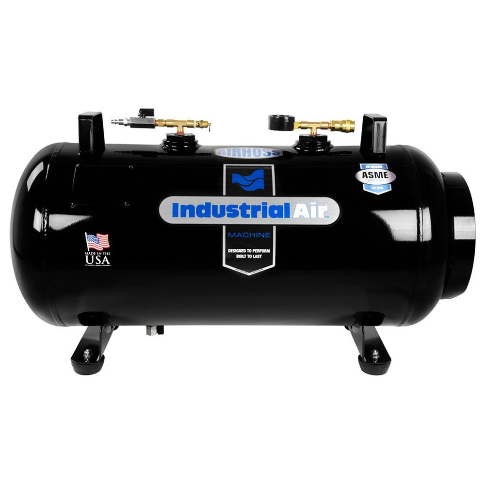 Industrial Air AirHoss 20 Gallon Small Vertical & Horizontal Auxiliary Air Tank