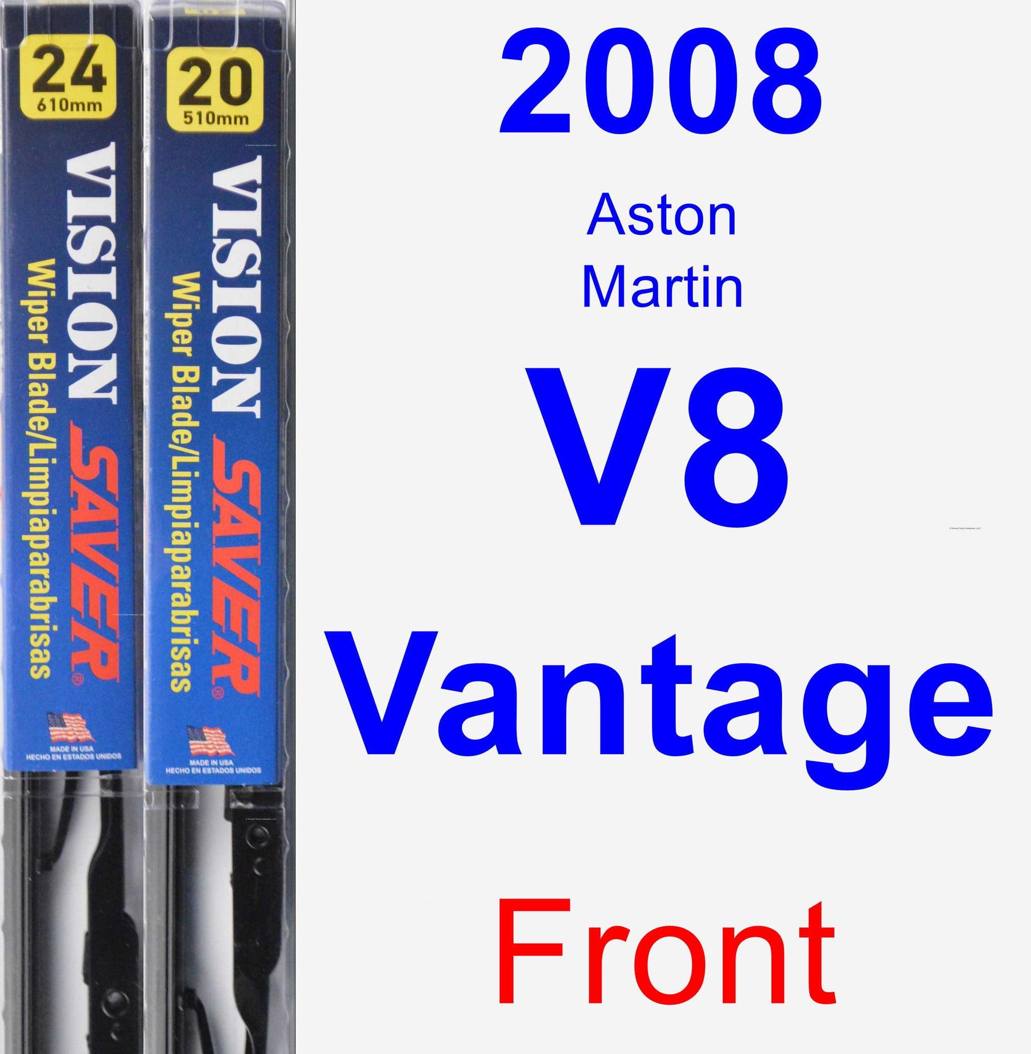 2008 Aston Martin V8 Vantage Wiper Blade Set/Kit (Front