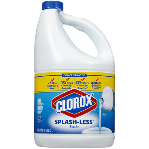 Clorox Splash-Less Regular Bleach, 116 fl oz