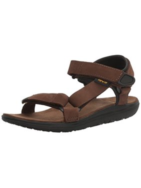 Teva Boys' Terra-Float Universal Lux Sandal, Brown, 11 M US Little Kid