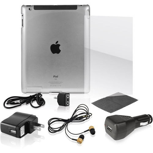 Ematic 8-in-1 Accessory Kit for iPad 2
