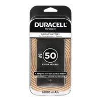 Duracell Mobile Powerpack Plus 6,800 mAh Power Bank in Black
