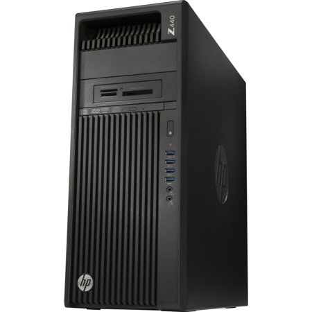 Hp Z440 Mini Tower Workstation   1 X Processors Supported   1 X Intel Xeon E5 1630 V4 Quad Core  4 Core  3 70 Ghz   Jack Black   8 Gb Ram   128 Gb Maximum Ram   Ddr4 Sdram   8 X Memory  X2d81ut Aba