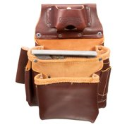 Occidental Leather 5061LH 2 Pouch Pro Fastener Tool Bag Tape Holster - Left Hand