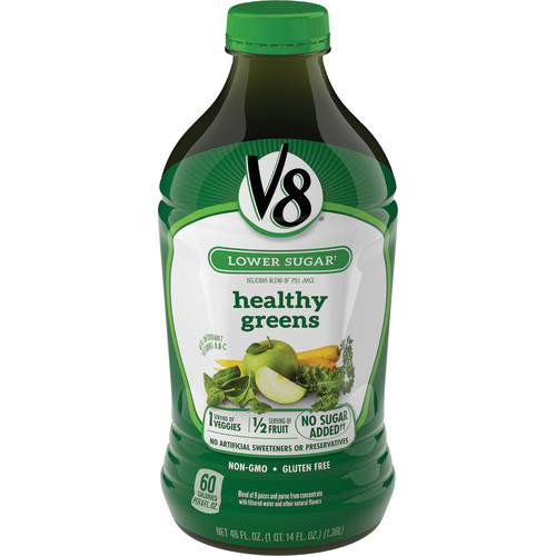 (6 Ct) V8 Healthy Greens Juice, 46 Oz-$0.06/Oz