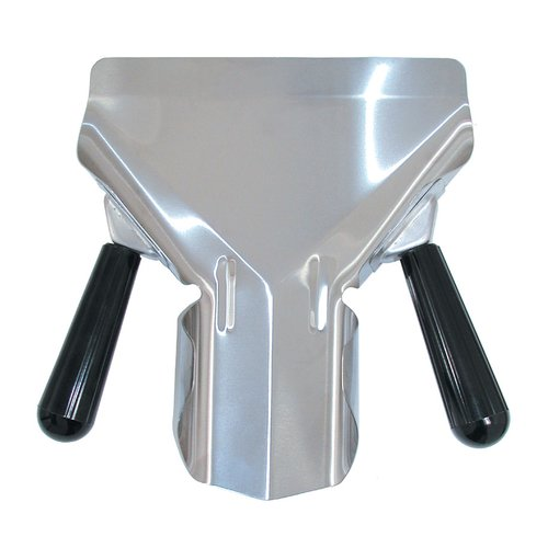 Update International Bagging Scoop Stainless Steel 2 Sided Handle