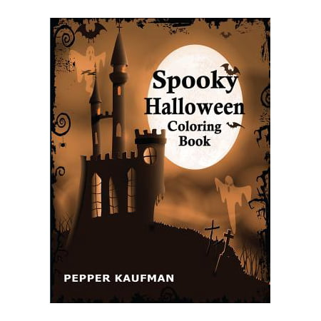 Spooky Halloween Coloring Book - First Grade Halloween Coloring Pages
