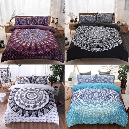 12384faa7d 3Pcs/Set European lines bedding set queen double bed size bedclothes  Comforter/Duvet/Quilt cover sheet pillowcase bed sets - Walmart.com