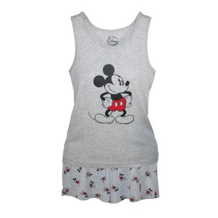 Size Medium Mickey Mouse Tank and Shorts Pajama Set, - Mickey Mouse Pajamas