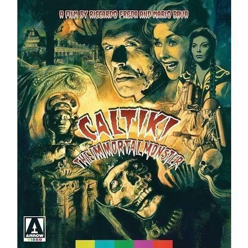 Caltiki, The Immortal Monster (Blu-ray + DVD) MVDBRAV086