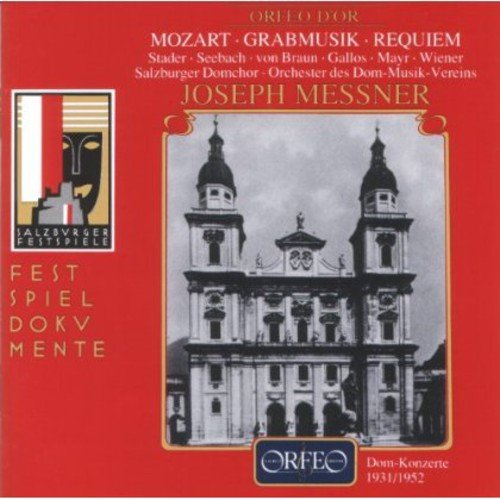 Kirchensonate Es-Dur & Grabmusik Kv 42 & Requiem