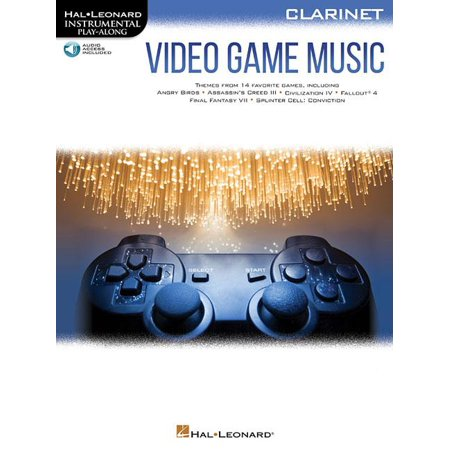 Video Game Music for Clarinet: Instrumental Play-Along Series (Other)](Easy Halloween Music For Clarinet)