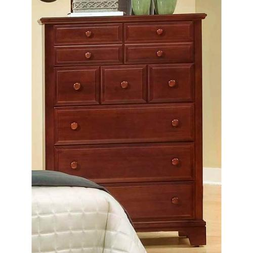 5-Drawer Chest in Cherry Finish