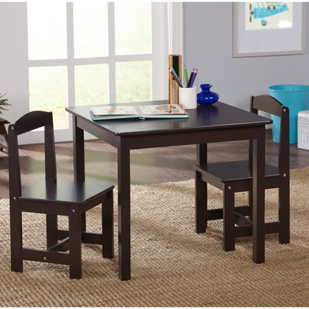 TMS Hayden Kids 3-Piece Table and Chair Set, Multiple (Juvenile Kids Table)