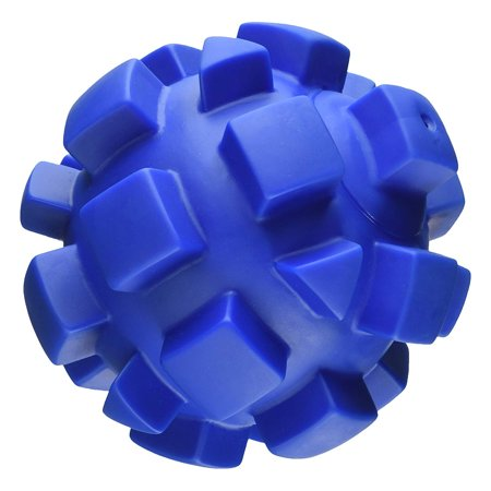 Hueter Toledo Soft Flex Bumby Ball Dog Toy Blue 7